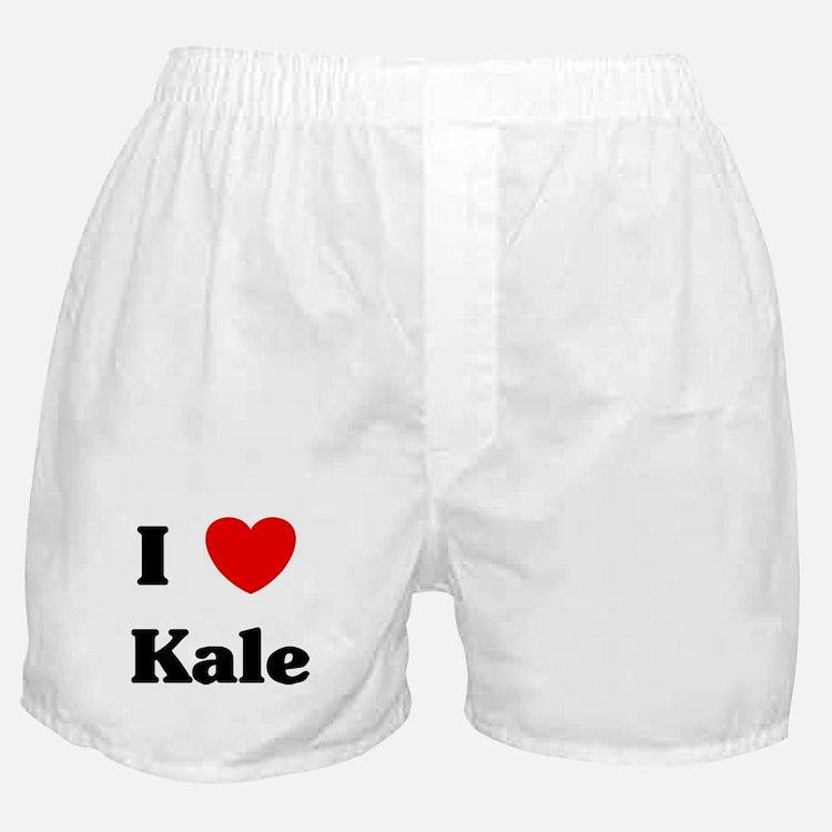 I love Kale Boxer Shorts