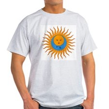 larks 8x8 w ying-yang.jpg T-Shirt