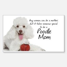 Poodle Mom Messanger Decal
