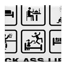 Pyrotechnician-AAZ1 Tile Coaster