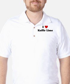 I love Kaffir Lime Golf Shirt