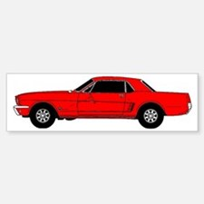 Ford Mustang Sticker (Bumper)