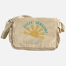 Hello Sunshine Messenger Bag