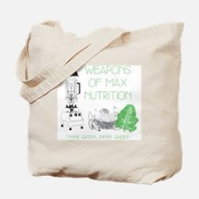 Weapons of Max Nutrition Tote Bag