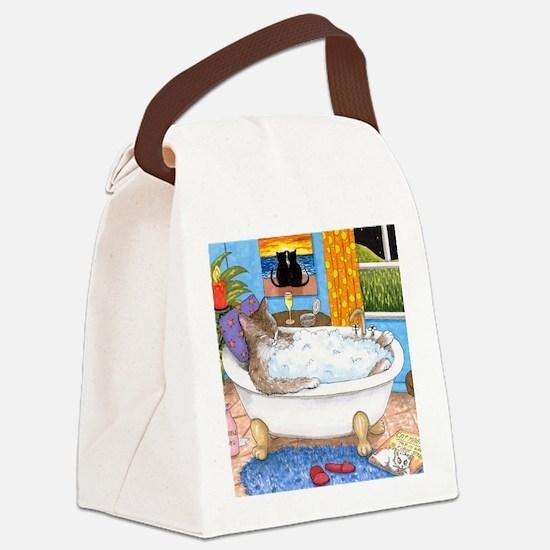 cat 567 Canvas Lunch Bag