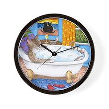 cat 567 Wall Clock