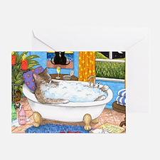 cat 567 Greeting Card