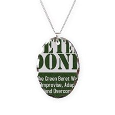 Get Er Done - Improvise, Adapt Necklace