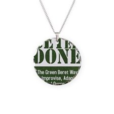 Get Er Done - Improvise, Ada Necklace
