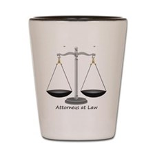 Wright and Wrong Law Shot Glass