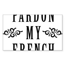 Pardon My French Decal