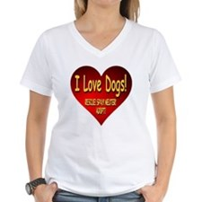 I Love Dogs! Rescue! Spay!  Shirt
