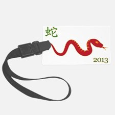 Year of the Snake 2013 Luggage Tag