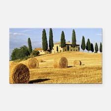 Italian countryside Rectangle Car Magnet
