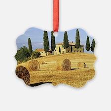 Italian countryside Ornament