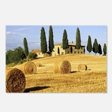 Italian countryside Postcards (Package of 8)