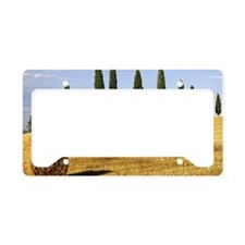 Italian countryside License Plate Holder
