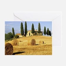 Italian countryside Greeting Card