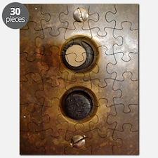 Victorian Push Button Light Switch Puzzle