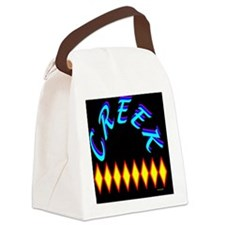 CREEK TRIBE Canvas Lunch Bag