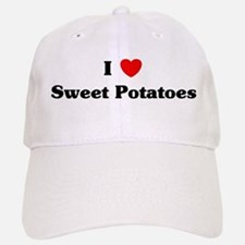 I love Sweet Potatoes Baseball Baseball Cap