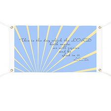 Psalms 118 24 Bible Verse Banner