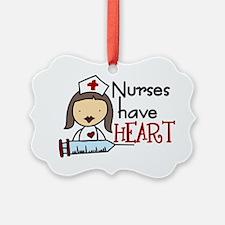 Nurses Have Heart Ornament
