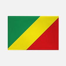 Congo-Brazzaville flag Rectangle Magnet