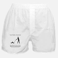 Yard Safety Awareness Boxer Shorts