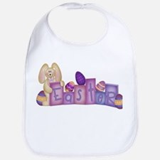 Cute Bunny - Easter Block's Bib
