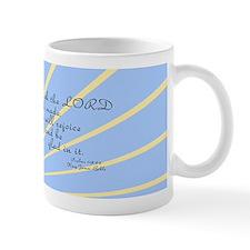 Psalms 118 24 Bible Verse Mug