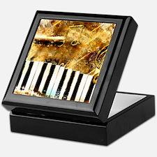 Musical Grunge Keepsake Box