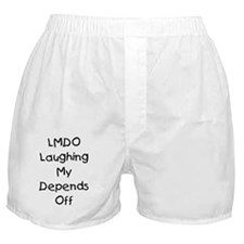 LMDO Laughing My Depends Off Boxer Shorts