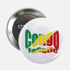 Congo fanatic flag Button