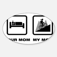 Mountain-Biking-ABN1 Sticker (Oval)