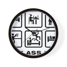 Veterinarian-ABA1 Wall Clock