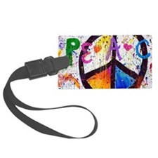 Love and Peace and Children Luggage Tag