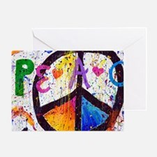 Love and Peace and Children Greeting Card