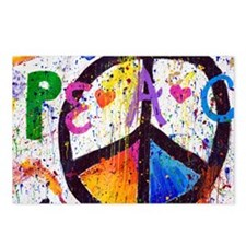 Love and Peace and Childr Postcards (Package of 8)