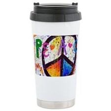 Love and Peace and Chil Travel Mug