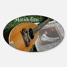 2Cal_Forever_Mandolins_Cover_Page Sticker (Oval)