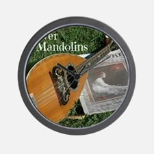 2Cal_Forever_Mandolins_Cover_Page Wall Clock
