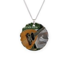2Cal_Forever_Mandolins_Cover Necklace Circle Charm