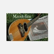 2Cal_Forever_Mandolins_Cover_Page Rectangle Magnet