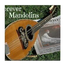 2Cal_Forever_Mandolins_Cover_Page Tile Coaster