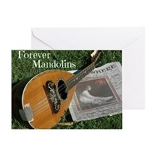 2Cal_Forever_Mandolins_Cover_Page Greeting Card
