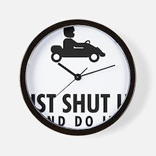 Go-Karting-AAU1 Wall Clock
