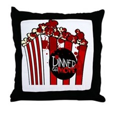 DNM Popcorn Throw Pillow