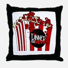 DNM Popcorn Throw Pillow