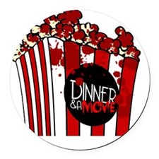 DNM Popcorn Round Car Magnet